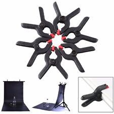6Pcs Backdrop Clamps Clips for Photo Studio Photographic Background Stand Light