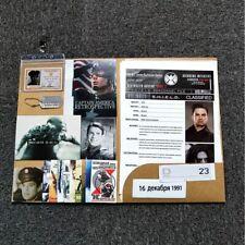 Winter Soldier Files S.H.I.E.L.D. Paper Props Movie Bucky Barnes Props Replica