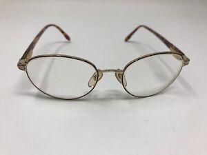 Laura Ashley Eyeglasses Frame Vintage JACQUELINE ROSE PETAL 52-18-140 Round GP19