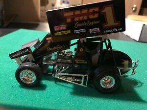 SAMMY SWINDELL #1 BLACK TMC RACING CHAMPIONS 1/24th  SCALE SPRINT CAR