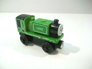 THOMAS THE TRAIN WOODEN RAILWAY LUKE WOOD TRAIN ENGINE CAR