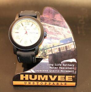 Humvee Unstoppable Black Wrist Watch HF-19 12/24 WR 30M, Quartz  Sku 403