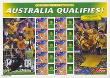 AUSTRALIEN - 2006 AUSTRALIA QUALIFIES FIFA WORD CUP FUSSBALL WM SOCCER BOGEN **