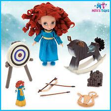 "Disney Animators' Collection Brave's Merida 5"" Mini Doll Play Set brand new"