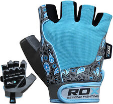 RDX Ladies Gel Gloves Fitness Gym Wear Weight Lifting Workout Training Cycling B