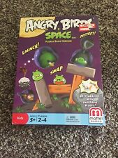 New vintage Angry Birds Birds in Space Game Mattel 2012