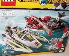 LEGO World Racers ✰ #8897 JAGGED JAWS REEF✰ NEW Factory Sealed CASE FRESH SHARP