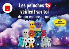 Peluche TY yeux phosprescents Happy Meal Mc Donald / NEUF / Mc Do 2020