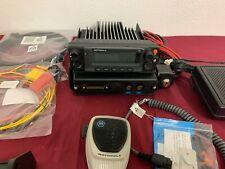 MOTOROLA XTL5000 VHF P25 DIGITAL TRUNKING MOBILE RADIO 110w - NEW MIC - COMPLETE