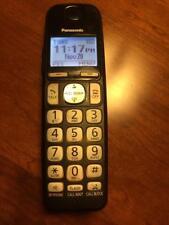 Panasonic KX-TGEA40B Additional Digital Cordless Phone + Charger Model KX-TGE430