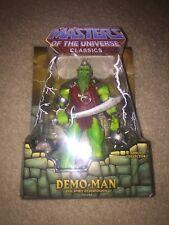 MOTUC, Demo-Man, Masters Of The Universe Classics, MISB