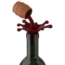 Bouchon de bouteille en forme de tonneau de vin