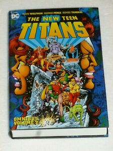 New Teen TITANS - Omnibus Vol 2 - DOUBLE SIGNED by Marv Wolfman GEORGE PEREZ  DC