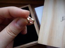 SARAH & SEBASTIAN 14K yellow gold small mini huggie hoop earrings w/ box