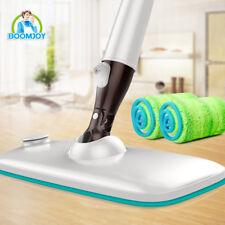 Boomjoy INNOVATION hidden water tank spray floor mop with carbon microfiber pads