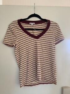 james perse 1 womens nwot multicolor cotton blend top