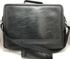Vintage Hewlett Packard HP Black Laptop Carrying Case Bag Cross-body (RF917)