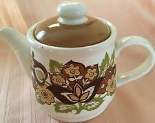 Vint Staffordshire SADLER England teapot  beautiful Floral Decor*