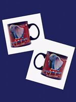 Disney Dumbo Feather Live Action Film Ceramic Coffee Mug Flying Elephant 20 Oz