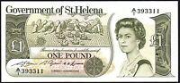 1981 ST HELENA £1 BANKNOTE * A/1 393311 * UNC * P-9a * Saint Helena