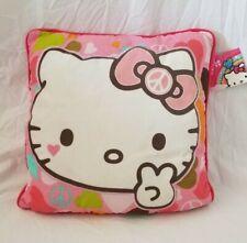 """Sanrio Hello Kitty Decorative Pillow 14"""" x 14"""" NWT"""