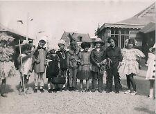Plage du Nord c. 1930 - Enfants Déguisés - DIV 11163