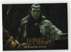 The Hobbit The Battle of the Five Armies - Base Card 30 Canvas Parallel 07/75