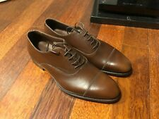 Alfred Sargent Exclusive Armfield Cap toe Oxfords Brown size 8 New