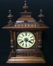 Antique mantle clock made by H.A.C. 14 day Strike early 1900s