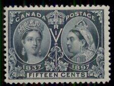 CANADA #58 15¢ Jubilee, fresh og, XLH, rich color, Scott $275.00