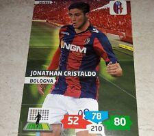CARD ADRENALYN 2013/14 CALCIATORI PANINI BOLOGNA CRISTALDO CALCIO FOOTBALL