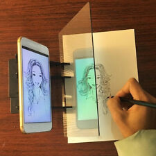 Optical Image Drawing Board Sketch Reflection Dimming Painting Mirror Plate A+