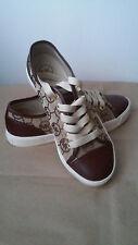 NEW Michael Kors MK Logo Fashion Sneakers Shoes Size 8.5