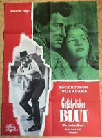 GEFÄHRLICHES BLUT Rock Hudson Julia Adams THE LAWLESS BREED Filmplakat
