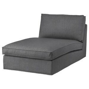Brand New IKEA KIVIK Chaise Cover Skiftebo Dark Gray 704.649.92