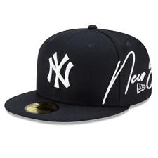 New Era 59Fifty Fitted Cap MLB Cursive New York Yankees NYY Men Women Unisex Hat