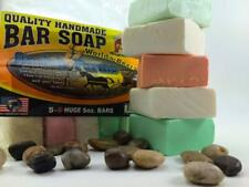 All Natural Amish Farm Bar Soap Variety 5-Pack Cold Process Old-Fashioned Homema