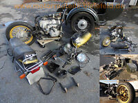 Sitz Sitzbank Sitz-Bank Sattel / seat saddle / selle BMW R45 R65 R80 R100