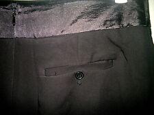 $89.95 Events 14 Winter Black Silky Waistband Lined Straight Work Skirt