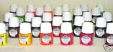 Pebeo transparent fabric paint 45ml (1.5oz.) bottle. Choose from 28 colours