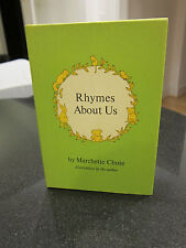 Rhymes about Us by Marchette Chute (1974, Hardcover) Stated First Edition