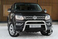 PROTECTION AVANT, PARE BUFFLE VOLKSWAGEN AMAROK 11- INOX DIAM 70mm, HOMOLOGUE