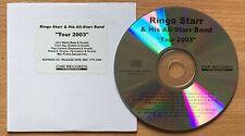 Beatles  Ringo Starr   UK Tour 2003  Promo 16 Track CD