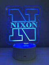 Nursery Decor Night Light Custom Name Boy Monogram