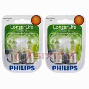 2 pc Philips P21/5WLLB2 Long Life Tail Light Bulbs for BP7528LL Electrical iy