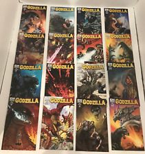 LOT OF 19 GODZILLA #1-13 COMPLETE SET + 5 SUB VARIANTS  IDW 2012 SWIERCZYNSKI