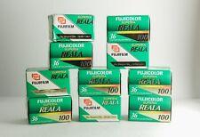 10x Fujifilm Fujicolor Superia REALA 35mm Color Film Exp.2006 sharpest 36exp.