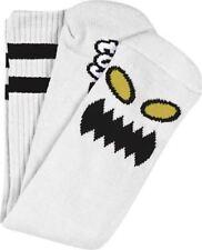 Toy Machine Monster Face Crew Socks White 1 Pair