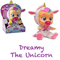 Cry Babies Doll *DREAMY* The Unicorn Baby New 2019 Bebe llorones