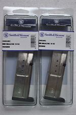 2 NEW SMITH & WESSON SD 9/SD 9VE 9 MM 10 ROUND MAGAZINE